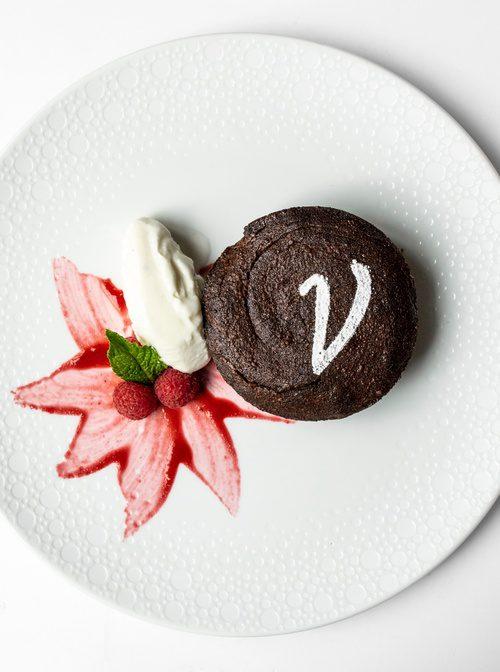 Warm Chocolate Budino