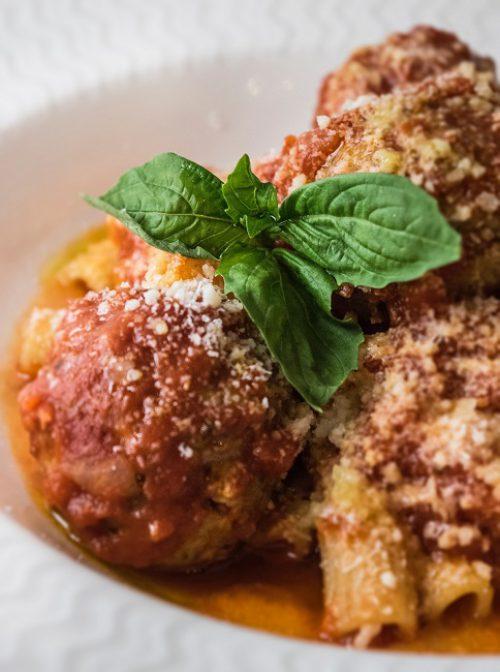 Housemade Rigatoni and Meatballs